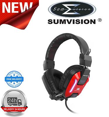 Sumvision Akuma GX800 Wired Gaming HeadphonesHeadset with Mic PCLaptop 6931912471111 | eBay