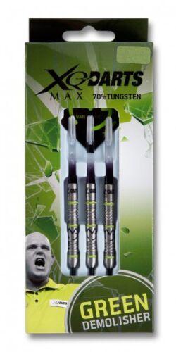 XQ-Max Darts MvG Michael van Gerwen Green Demolisher 21g 23g 25g Steel Dart