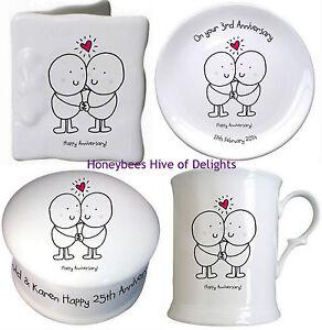 Personalised Novelty Anniversary Gift Ideas For Wedding Couple Him Her Keepsake Ebay