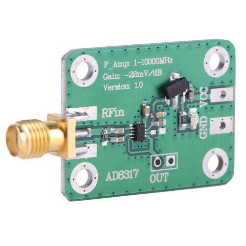 RF Signal Power Meter Logarithmisch Detektor Power Detection Modul 1M-10000MHz ✪