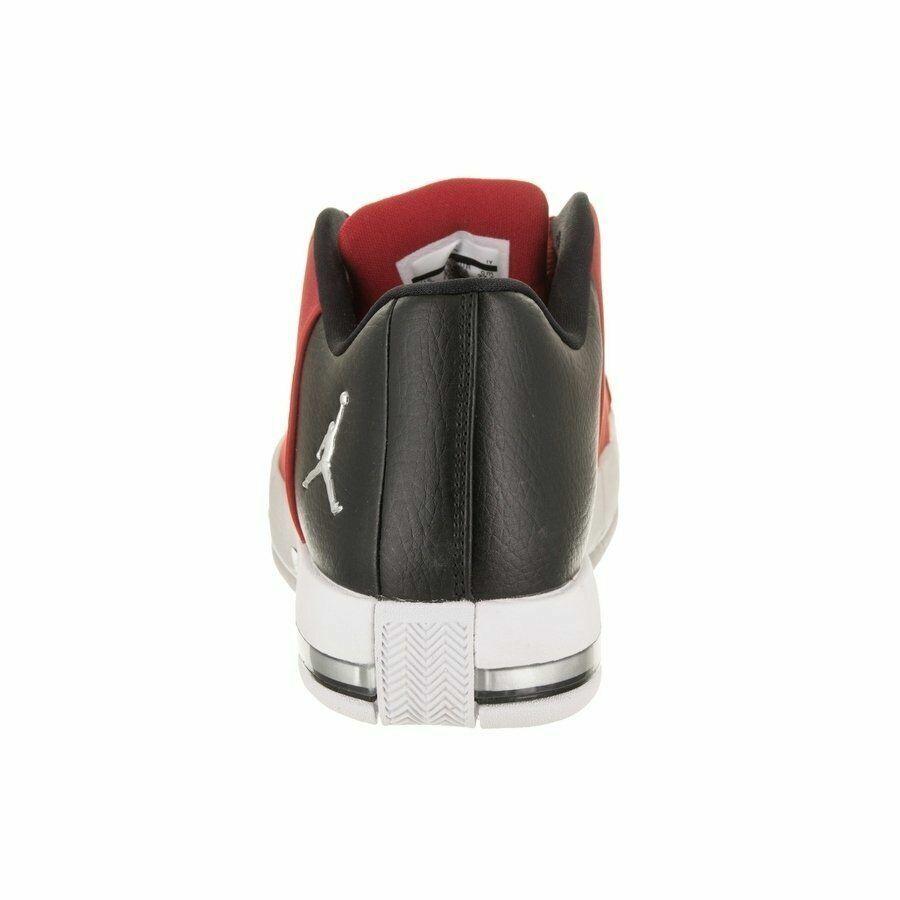 NIB NIKE NIKE NIKE Uomo 10 JORDAN TE 2 LOW AO1696 600 rosso nero BASKETBALL scarpe MSRP  110 e03f17