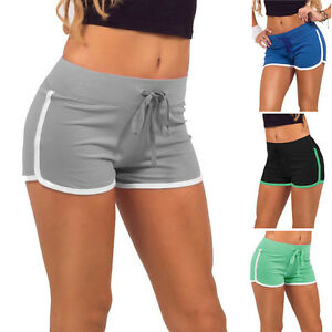 Summer-Pants-Women-Sport-Shorts-Gym-Workout-Waistband-Skinny-Yoga-Elastic-Shorts