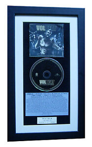 VOLBEAT-Seal-The-Deal-amp-Boogie-CLASSIC-CD-Album-QUALITY-FRAMED-FAST-GLOBAL-SHIP