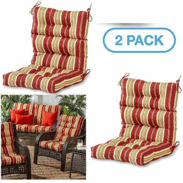 Kettler 2 Pack Sunbrella Cushion For Roma High Back Chair Lounge Dolce Oasis For Sale Online Ebay