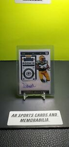2019-Panini-Contenders-Dexter-Williams-Auto-RC-205-Green-Bay-Packers