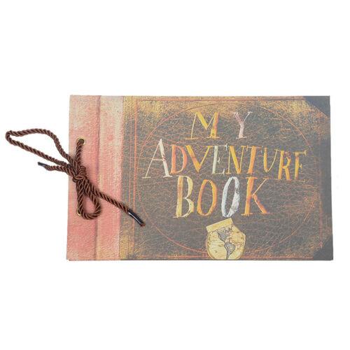 Our Adventure Book Pixar Up Handmade DIY Scrapbook Photo Album Wedding Best Gift