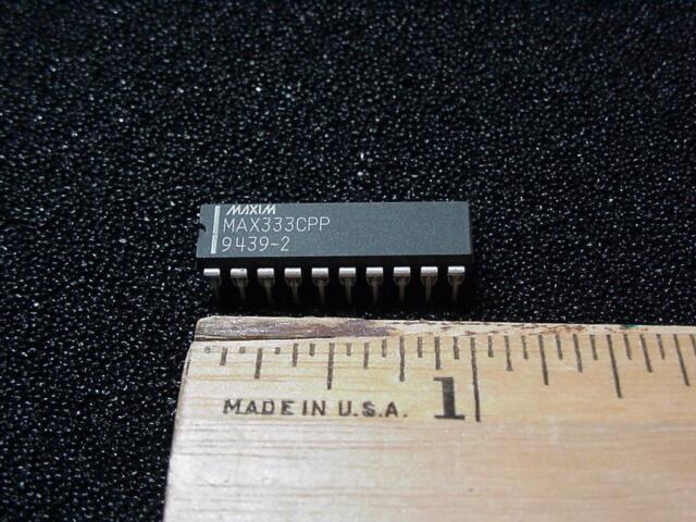 [ QTY 5 ] MAX333CPP  Quad SPDT CMOS Analog Switch Maxim