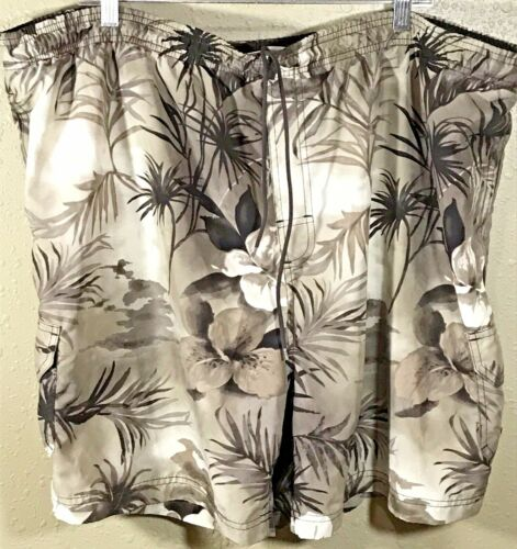Sand N Sun Mens Swim Shorts Lined Trunks 2XL 44/46