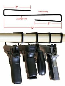 Lot de 5! Gun Safety arme pistolet-revolver Rack Stockage Solutions cintres-afficher le titre d`origine giBPlba8-07154832-690363914