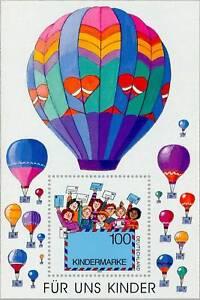 HonnêTe Rfa 1997: Pour Nous Enfants! Bloc Nº 40, Cachet! 1a! 1602-afficher Le Titre D'origine