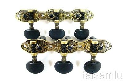 Classical Guitar Antique brass color plated Surface Tuner 405AB A2B