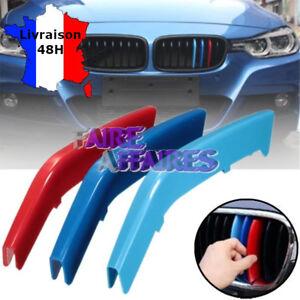 3 Clip bandes Grille Calandre BMW M Motorsport Performance E90 E91 320D 325D