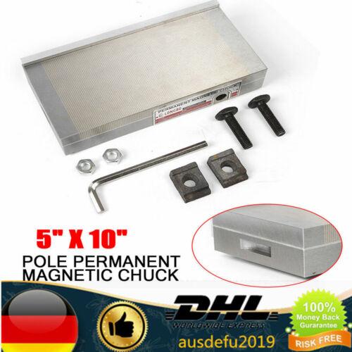 125*250mm Magnetspannplatte Magnetfutter Permanente Spannplatte mit Griff DE