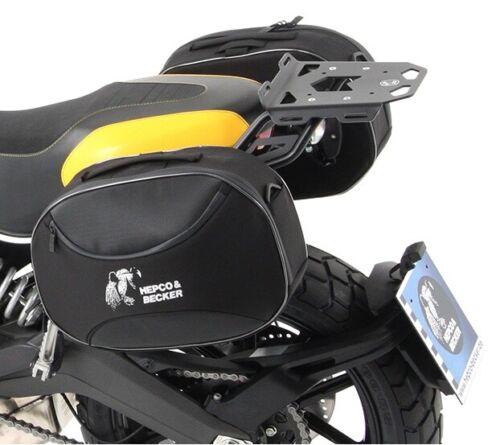 Poche latérale Hepco /& Becker softtasche STREET pour C-Bow support couleur noir
