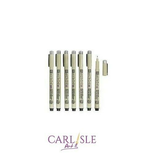 Sakura - Pigma Micron Pen Black - Choose Your Size