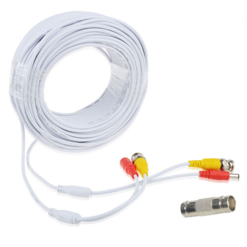 100ft BNC Video Power Wire Cord for Swann 1080P 720P 960H ETC Camera Cable Lead