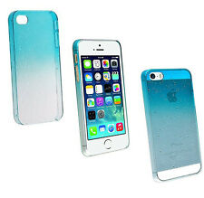 Wholesale 5x Clear Crystal Hard Case Cover For iPhone 4 4S Blue WaterDrop Style