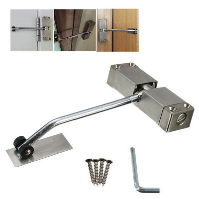 Universal Adjustable Surface Mounted Automatic Door Closer Auto Spring Closing