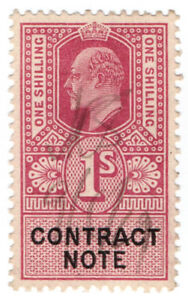 I-B-Edward-VII-Revenue-Contract-Note-1-1915