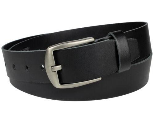 Echt Leder Gürtel 100 /% Ledergürtel schwarz Jeansgürtel 4cm Herren Damen Vascavi