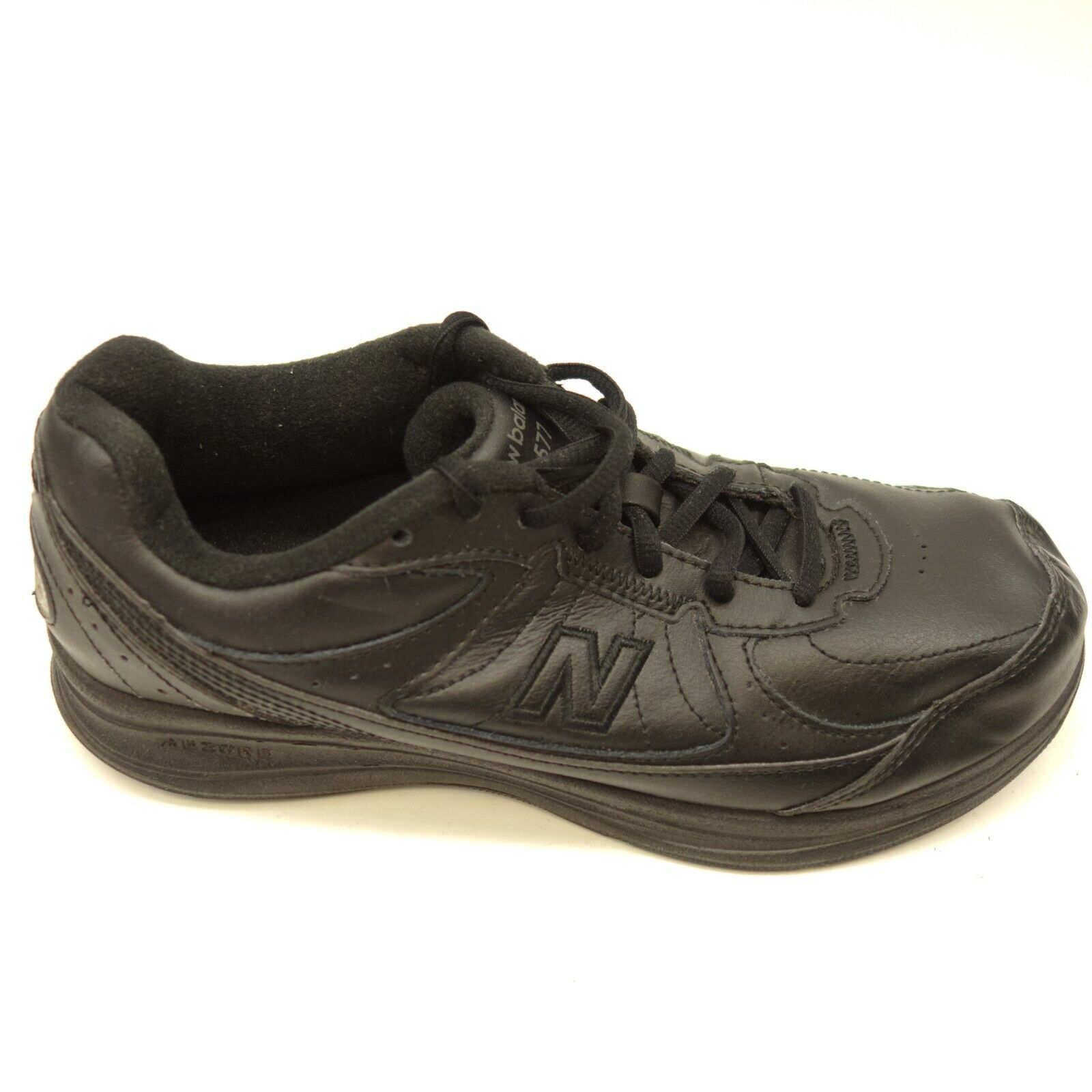 New Balance 577 US 8D EU 39 Wide Black Walking Training Athletic Womens shoes