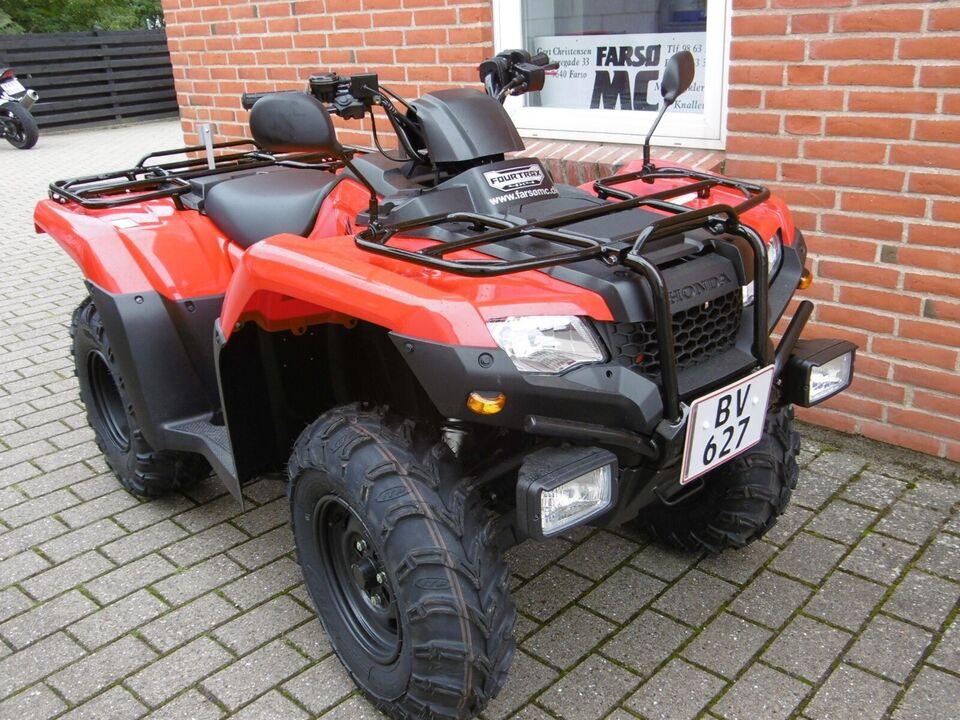 Honda, trx420 på plade, ccm 420