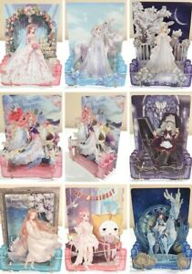 Miracle-Love-Nikki-3D-Starry-Stage-Pop-Up-Standee-Card-CHOOSE-Outfit