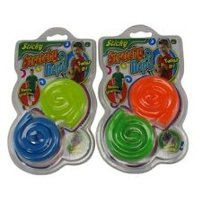 2 Packs Sticky Stretchy String Rope Tactile Fidget Toy Autism ADHD