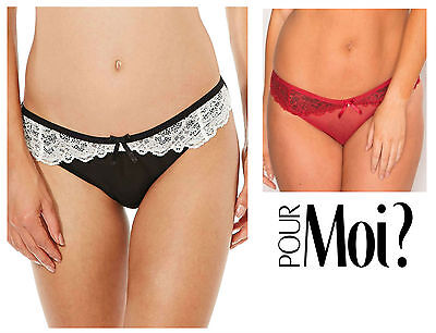 Pour Moi Signature Brief 8703 New Lingerie Womens Knickers