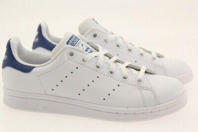 Adidas Big Kids Stan Smith white eqt blue S74778 | eBay