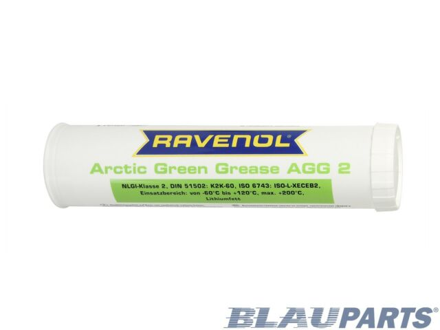 RAVENOL Arctic Green Lithium Grease AGG 2 – Performs Down To -76°F – 400 g
