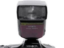Minolta flash 3500xi wireless N° guida 35. TTL x reflex a pellicola. Garanzia.