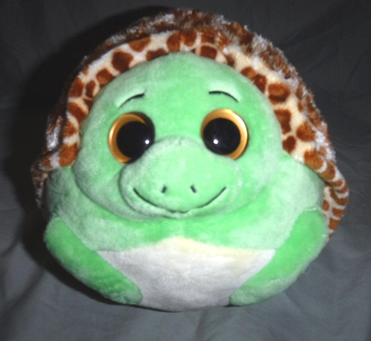 TY Beanie Babies Ballz Zoom The Turtle 9  Plush Soft Toy Stuffed Animal
