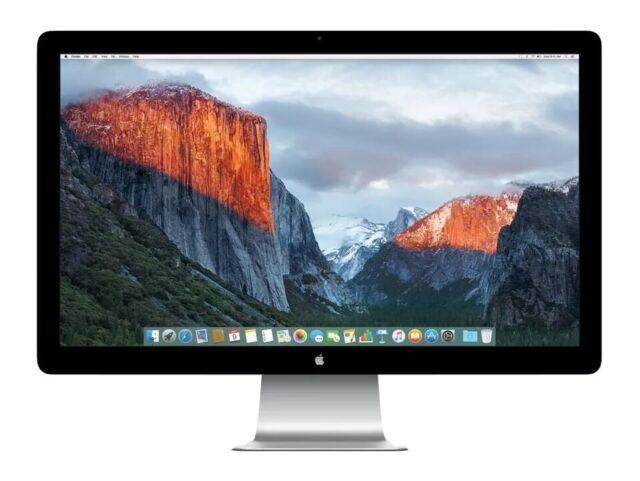 """Apple LE CANARDEUR 27"""" pouces IPS écran DEL Moniteur écran comme neuf TOP neuf dans sa boîte"""