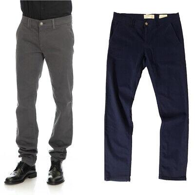 Pantalone Fifty Four uomo GOSSE GA03 nero blu superslim fit 31 32 33 34 36 38