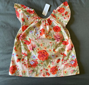 Gymboree Baby Girl Floral Print Dress /& Bloomers SIZE 6-12 MONTHS