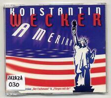 Konstantin Wecker Maxi-CD Amerika - 3-track CD