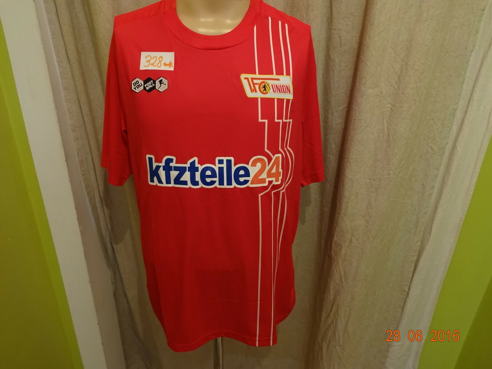 1.FC Union Berlin Berlin Berlin Original DoYou Football Trikot 2010/11