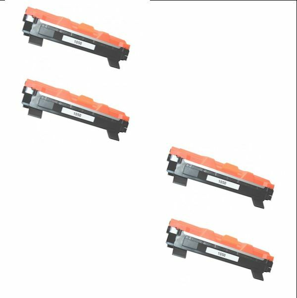 4 TONER X BROTHER MFC1810 MFC1910 HL1110 DCP1512 HL1112A DCP1510 DCP1515 TN1050