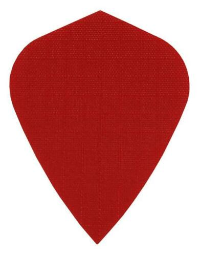 RED 5 SETS FABRIC RIPSTOP CLOTH DART FLIGHTS NYLON