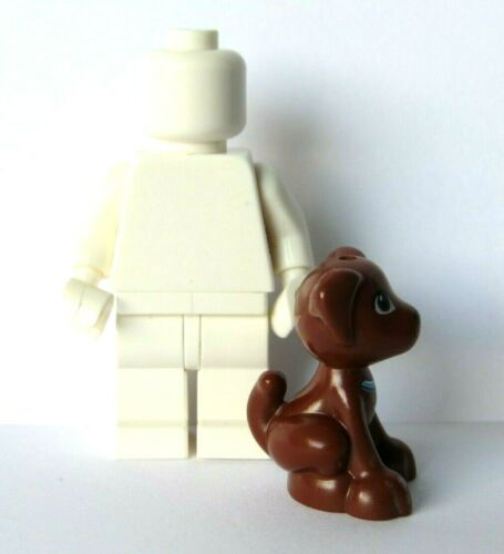 Lego 1 Brown Sitting Puppy Dog     Minifigure Not Included  Animal Pet Friends