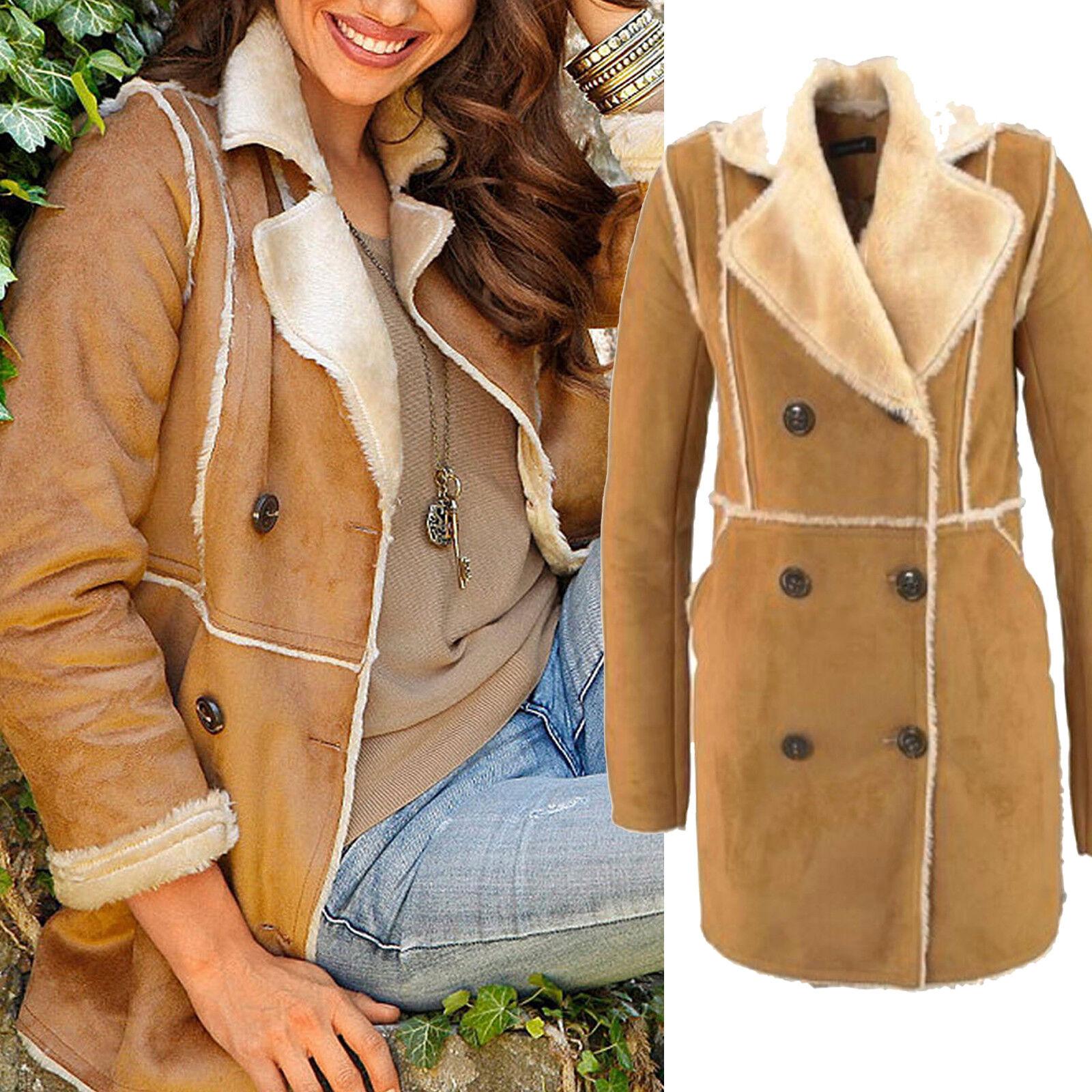 Caldo inverno cappotto di alta Cappotto qualità tg. 34 XS Webpelz Cappotto  alta Giacca cognac 89fc6d cbfadcbcf83