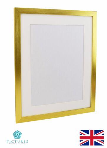 Gold Photo Poster Panoramique Cadre et fixations plage 28 mm Différentes Tailles