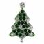 1 x Christmas Button Festive Xmas Diamante Loose Shank Back Buttons