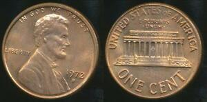 United-States-1972-D-One-Cent-Lincoln-Memorial-Uncirculated