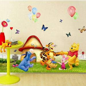 Removable Winnie The Pooh Wall Sticker Decal DIY Art Kids Room Decor