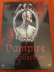 VAMPIRE COLLECTION COFANETTO 4 DISCHI DRACULA DVD NUOVO SIGILLATO