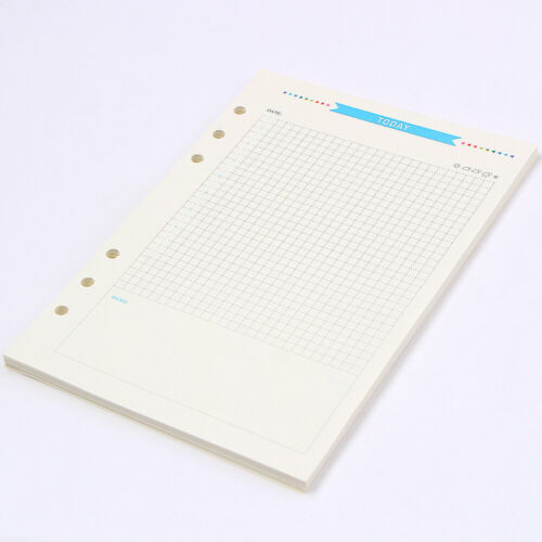 6-hole Notebook Daily Plan A6 Loose-leaf Refill Refillable Notebook Inner Core