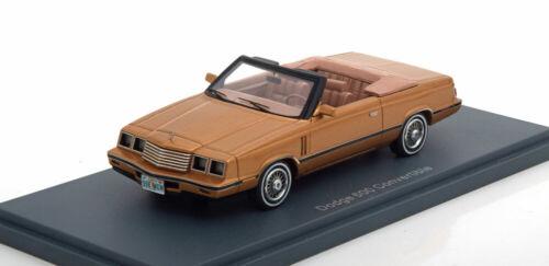 1:43 Neo Dodge 600 Convertible goldmetallic