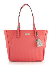 Jessica Simpson Cynthia Shoulder Tote Bag - Coral